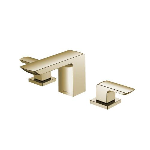 GR Widespread Faucet - 1.2 GPM - Polished French Gold MTO