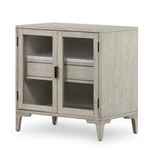 Viggo Cabinet Nightstand-vintage Wht Oak