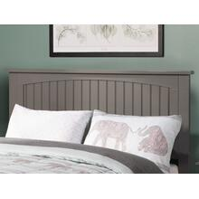 Nantucket Headboard Full Atlantic Grey