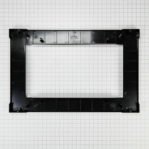 KitchenAid - Over-The-Range Microwave Trim Kit, Anti-Fingerprint Stainless Steel - Fingerprint Resistant Stainless Steel