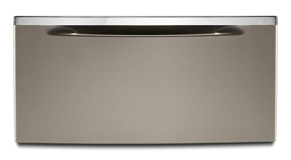 """Whirlpool11.3"""" Pedestal For Front Load Washer And Dryer With Storage"""