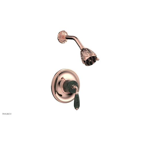VALENCIA Pressure Balance Shower Set PB3338F - Polished Copper