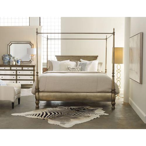 Bedroom Montage King Poster Bed