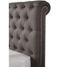 CAMERON - SEAL King Headboard 6/6 (Grey)