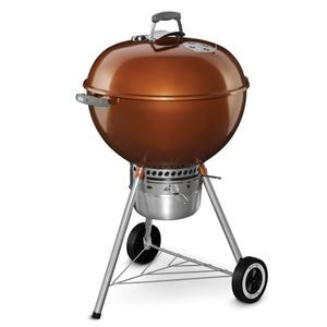 WeberORIGINAL KETTLE™ PREMIUM CHARCOAL GRILL - 22 INCH COPPER