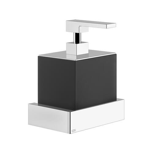 Gessi - Wall-mounted liquid soap dispenser - black Neolyte