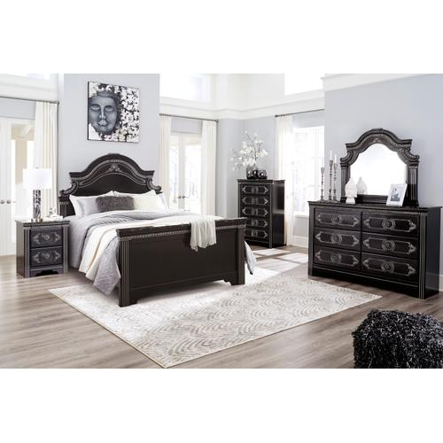 Banalski - Dark Brown 3 Piece Bed (Queen)