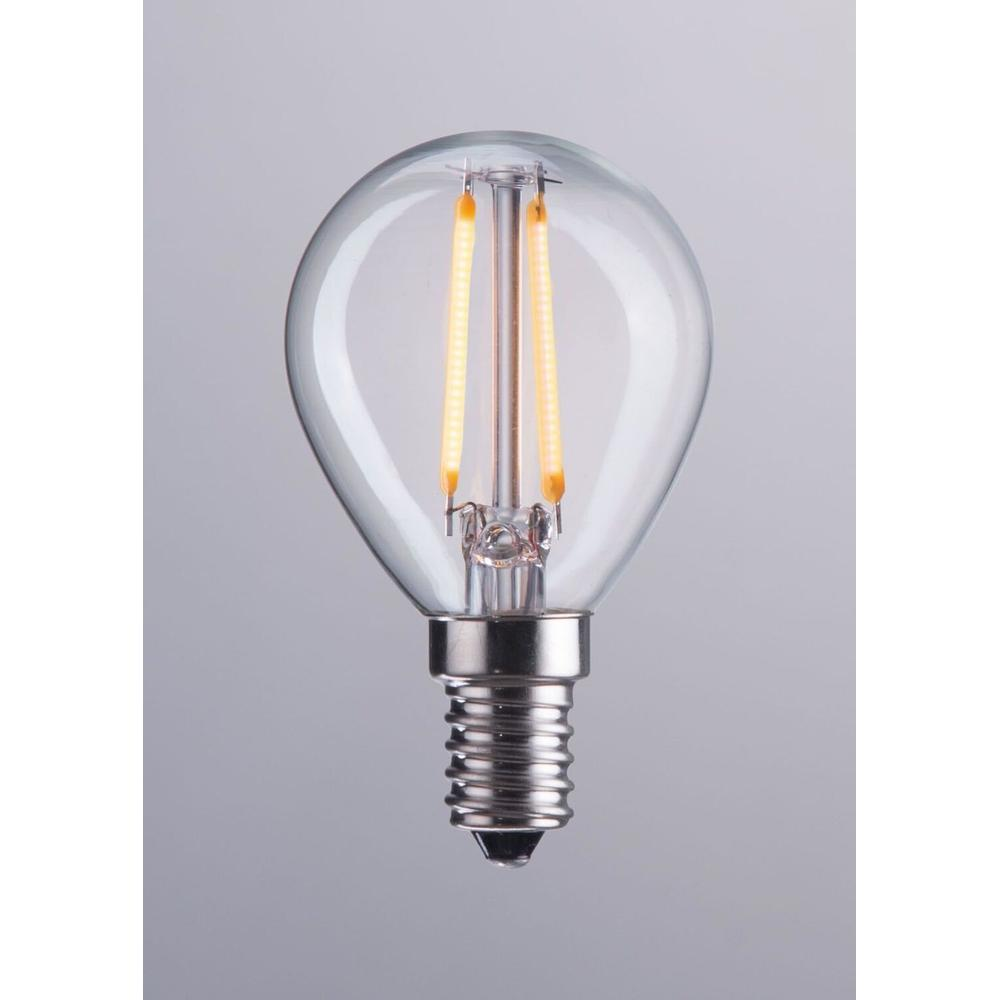 See Details - E12 G45 2w Led 80 X 45 Mm Clear