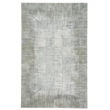 Laramie-Brushed Blocks Pewter Flat Woven Rugs