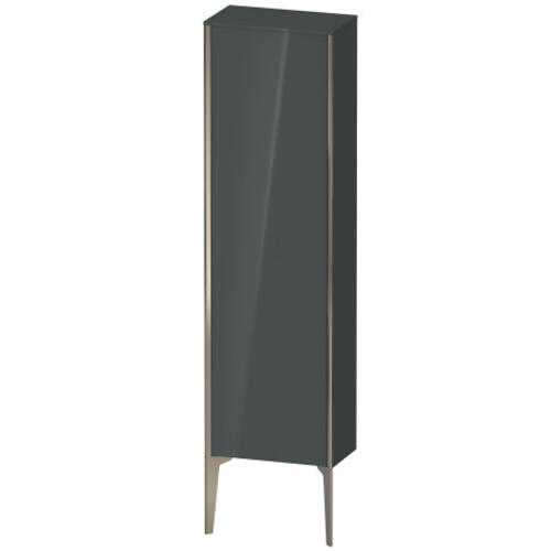 Duravit - Semi-tall Cabinet Floorstanding, Dolomiti Gray High Gloss (lacquer)