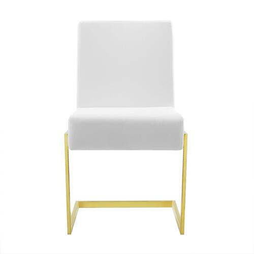 VIG Furniture - Modrest Batavia - Modern White Dining Chair (Set of 2)