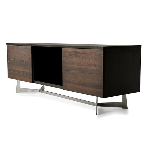 VIG Furniture - Modrest Wharton Modern Dark Aged Oak TV Stand
