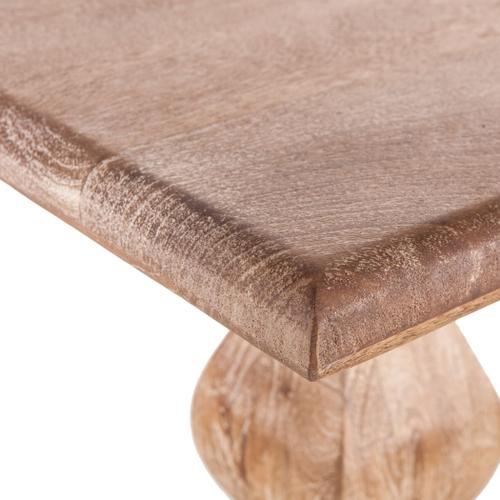 """San Rafael 72"""" Bench Antique Oak"""