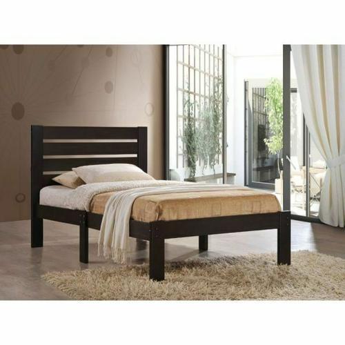 ACME Kenney Queen Bed - 21080Q - Espresso