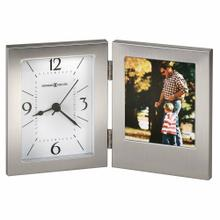 Howard Miller Envision Metal Table Clock with Photo Frame 645751