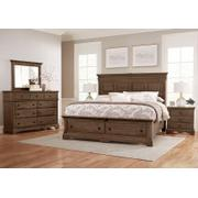 MANSION BED WITH STORAGE FOOTBOARD Product Image
