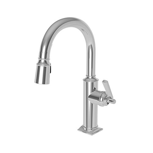 Newport Brass - Oil Rubbed Bronze - Hand Relieved Prep/Bar Pull Down Faucet