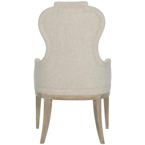 Santa Barbara Upholstered Arm Chair in Sandstone (385)