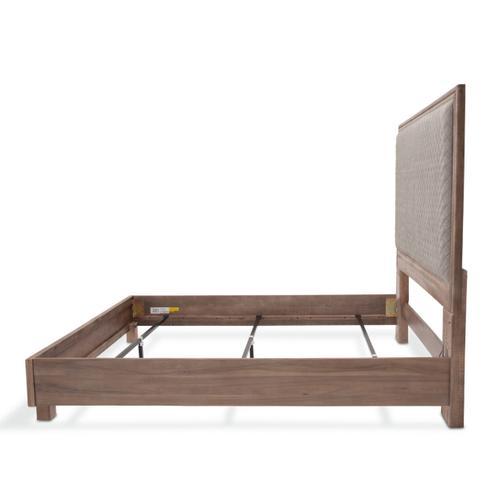 Amini - Cal King Panel Bed Slate Gray (3 Pc)