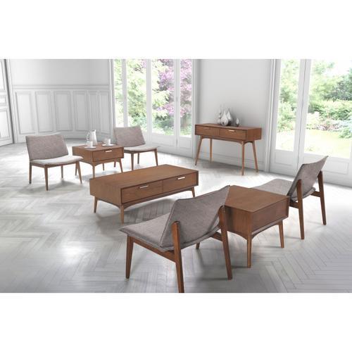 Zuo Modern - Design District Coffee Table Walnut