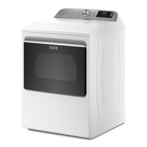 Smart Top Load Electric Dryer with Extra Power Button - 7.4 cu. ft.