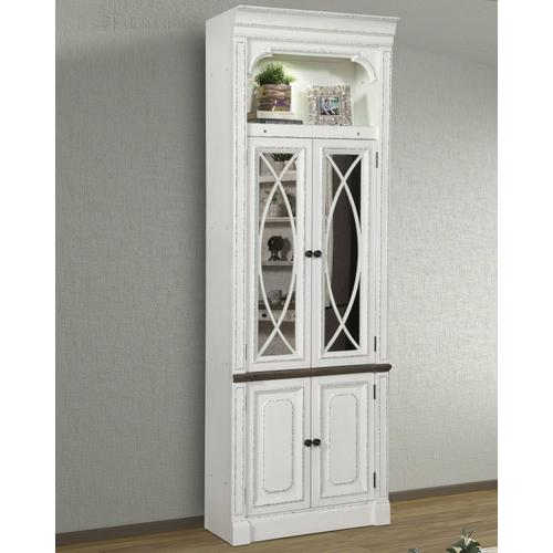 Parker House - PROVENCE 32 in. Glass Door Cabinet