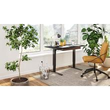 """View Product - Stance 6650 Standing Desk  48""""x24"""" in Black"""