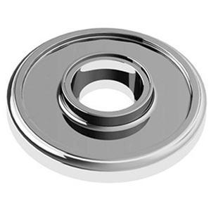 "Chrome Plate Concealed fix rose, 2 3/8"" diameter"