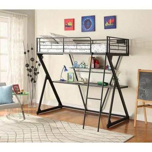 ACME Zazie Loft Bed - 37138 - Sandy Black