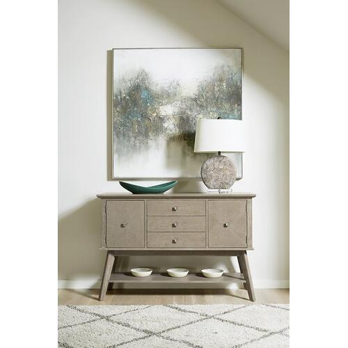 Sideboard - Weathered Taupe Finish