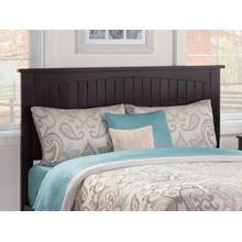 Nantucket Headboard Queen Espresso