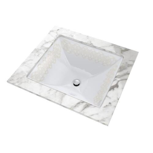 Product Image - Waza® Sultana™ Undercounter Lavatory - Cotton