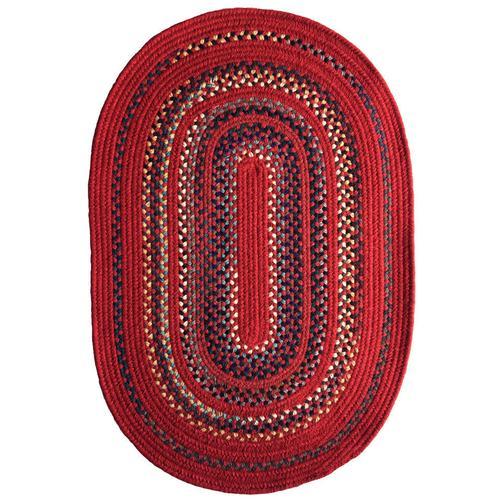 Bradford Crimson Braided Rugs