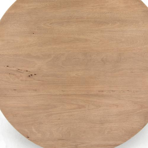 Mesa Round Coffee Table-light Brushed