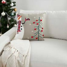 """Holiday Pillows Bx013 Multicolor 18"""" X 18"""" Throw Pillow"""
