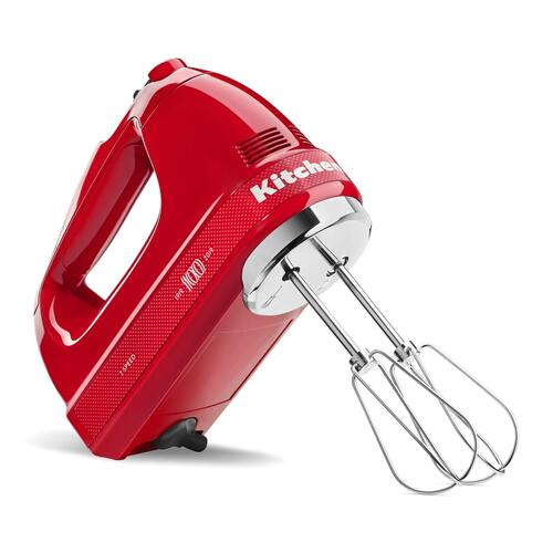 KitchenAid - 100 Year Limited Edition Queen of Hearts 7-Speed Hand Mixer Passion Red
