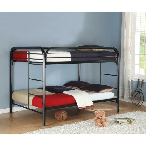 Fordham Black Full-over-full Bunk Bed