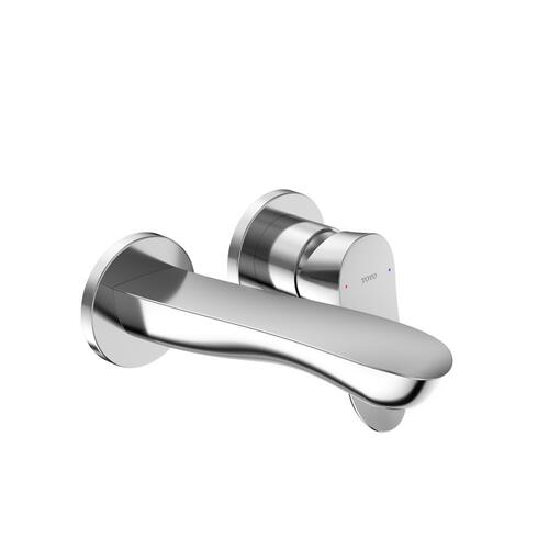 GO Wall-Mount Faucet - Short - 1.2 GPM - Polished Chrome Finish
