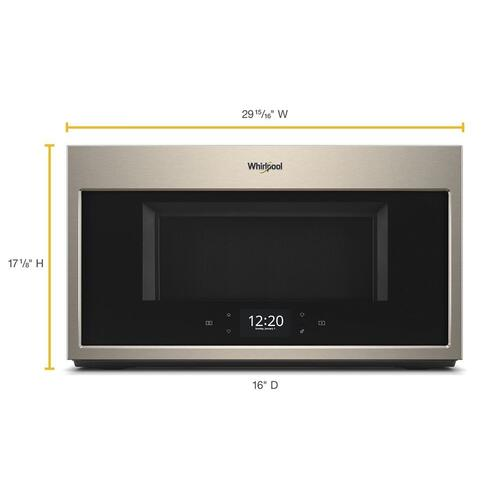 Smart 1.9 cu. ft. Over the Range Microwave with Multi-step cooking