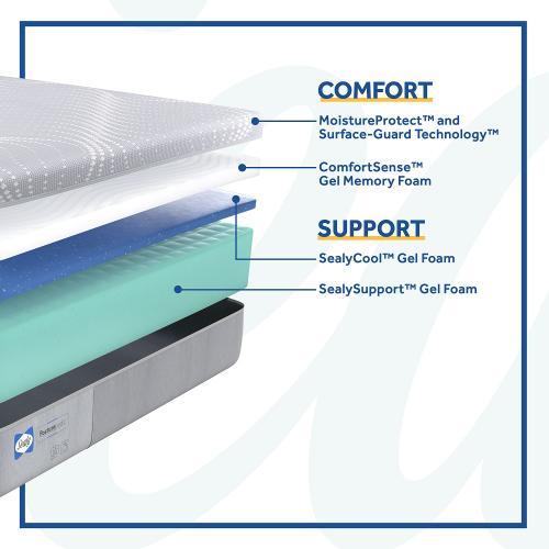 Sealy - Paterson - Medium - Foam - Twin