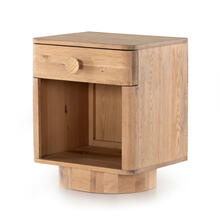 Mallory Nightstand-light Oak
