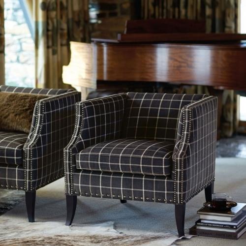Bernhardt Interiors - Romney Chair in Mocha (751)