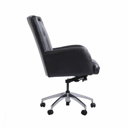 Parker House - DC#130 Verona Blackberry - DESK CHAIR Leather Desk Chair
