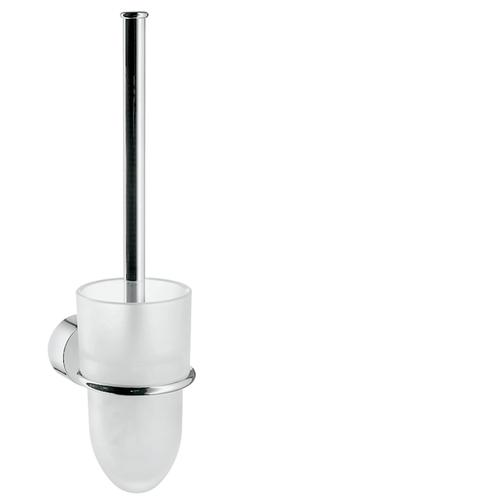Chrome Toilet brush holder wall-mounted