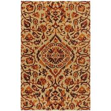Monte Carlo Wheat Persimmon Hand Tufted Rugs