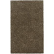 Safari-Leopard Brown - Rectangle - 5' x 8'