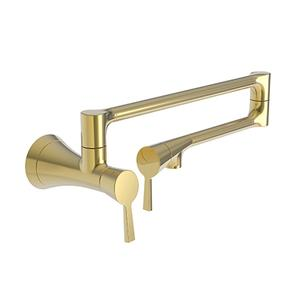 Polished Gold - PVD Pot Filler - Wall Mount