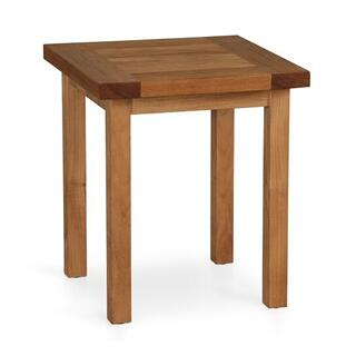 See Details - Martin Teak Tables Square Side Table