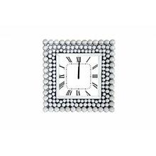 ACME Bione Wall Clock - 97404 - Mirrored