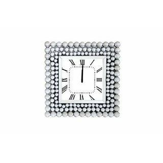 ACME Bione Wall Clock - 97404 - Mirrored